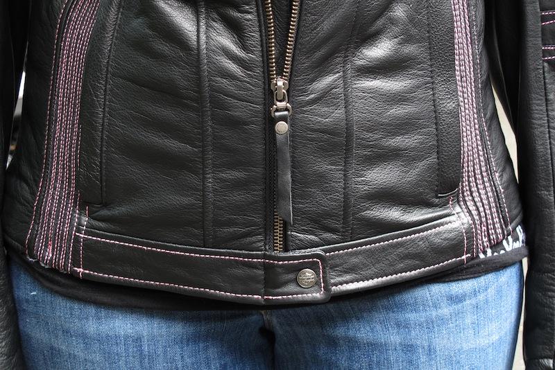 Review Harley-Davidson Pink Label Jacket, Chaps, Gloves Front