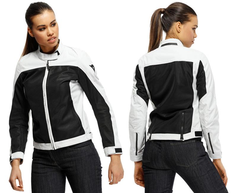 new womens motorcycle riding jacket dainese sevilla air lady text glacier gray