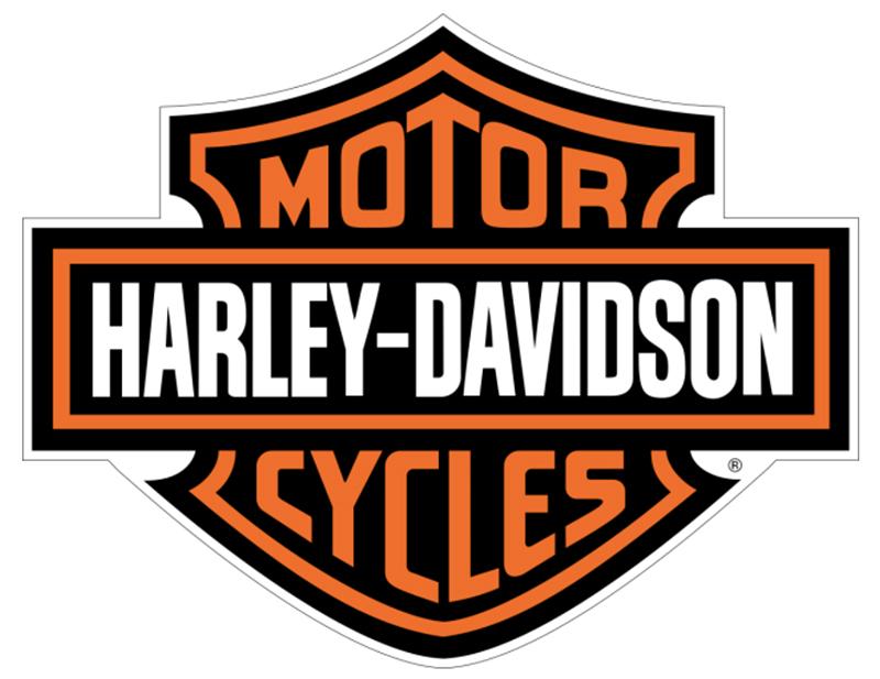 harley-davidson logo bar and shield