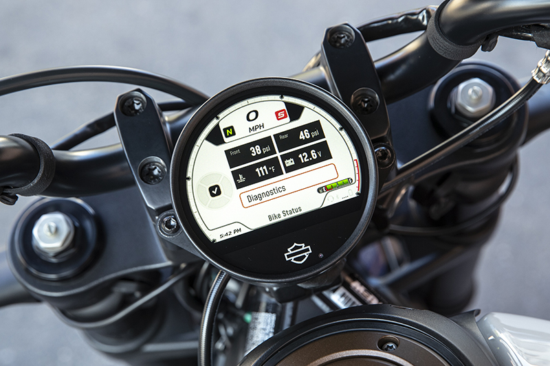 Sportster S Tire Pressure Monitoring System TPMS