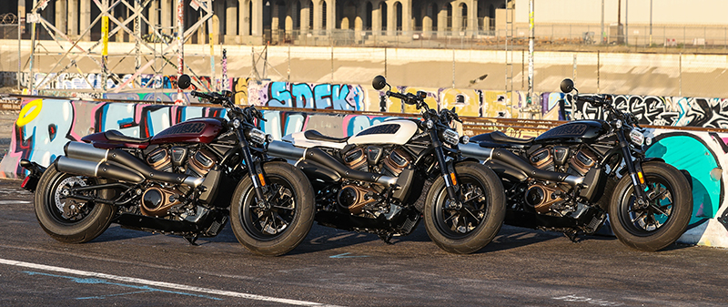 2022 Harley-Davidson Sportster S colors