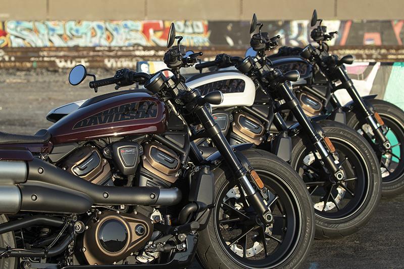 Harley-Davidson Sportster S engine