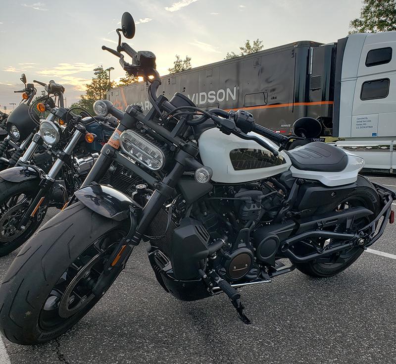 Harley-Davidson Pan America Sportster S